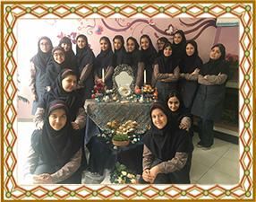 برگزاری جشن نوروز در دبیرستان مهر