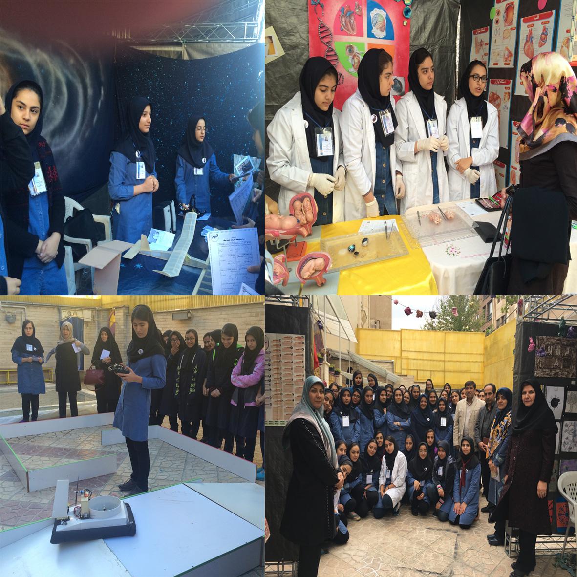 برگزاری نمایشگاه علمی-پژوهشی توسط دانش آموزان متوسطه 2